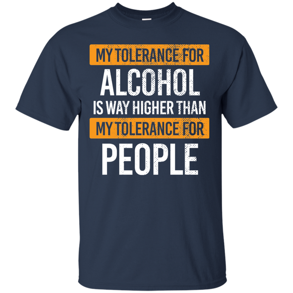 My Tolerance For Alcohol T-Shirt - The Beer Life