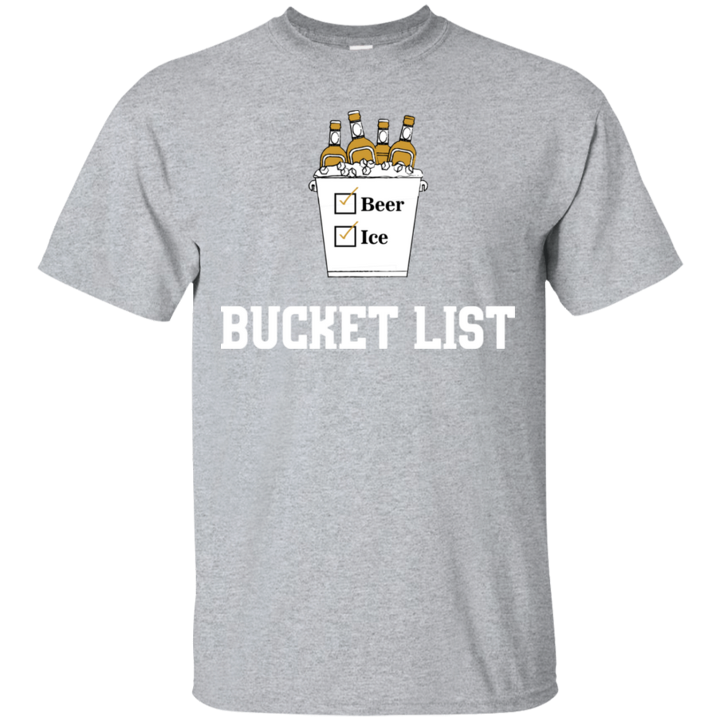 Bucket List T-Shirt Apparel - The Beer Lodge
