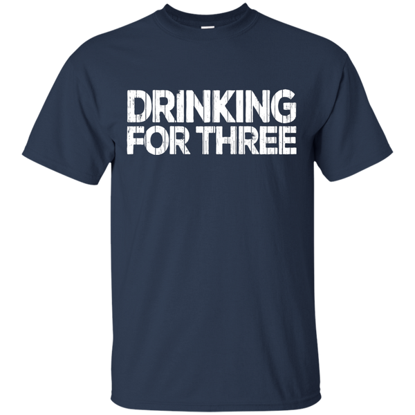 Drinking For Three T-Shirt T-Shirts - The Beer Lodge