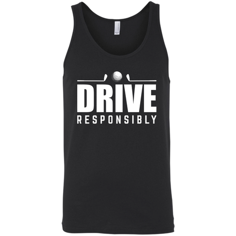 Drive Responsibly Tank Top Apparel - The Beer Lodge