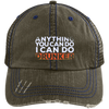 Anything You Can Do I Can Do Drunker Trucker Cap Hats - The Beer Lodge