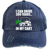 I Can Drive 300 Yards In My Cart Trucker Cap Hats - The Beer Lodge