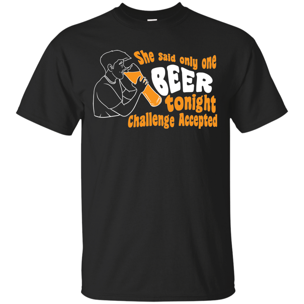 One Beer Challenge T-Shirt Apparel - The Beer Lodge