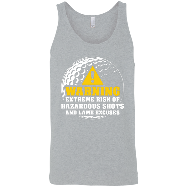Warning Extreme Risk Of Hazardous Shots And Lame Excuses Tank Top Apparel - The Beer Lodge