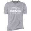 Honestly, Drunk Me Honest And Horny T-Shirt Apparel - The Beer Lodge
