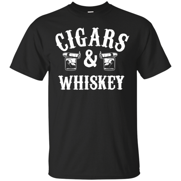 Cigars And Whiskey T-Shirt Apparel - The Beer Lodge