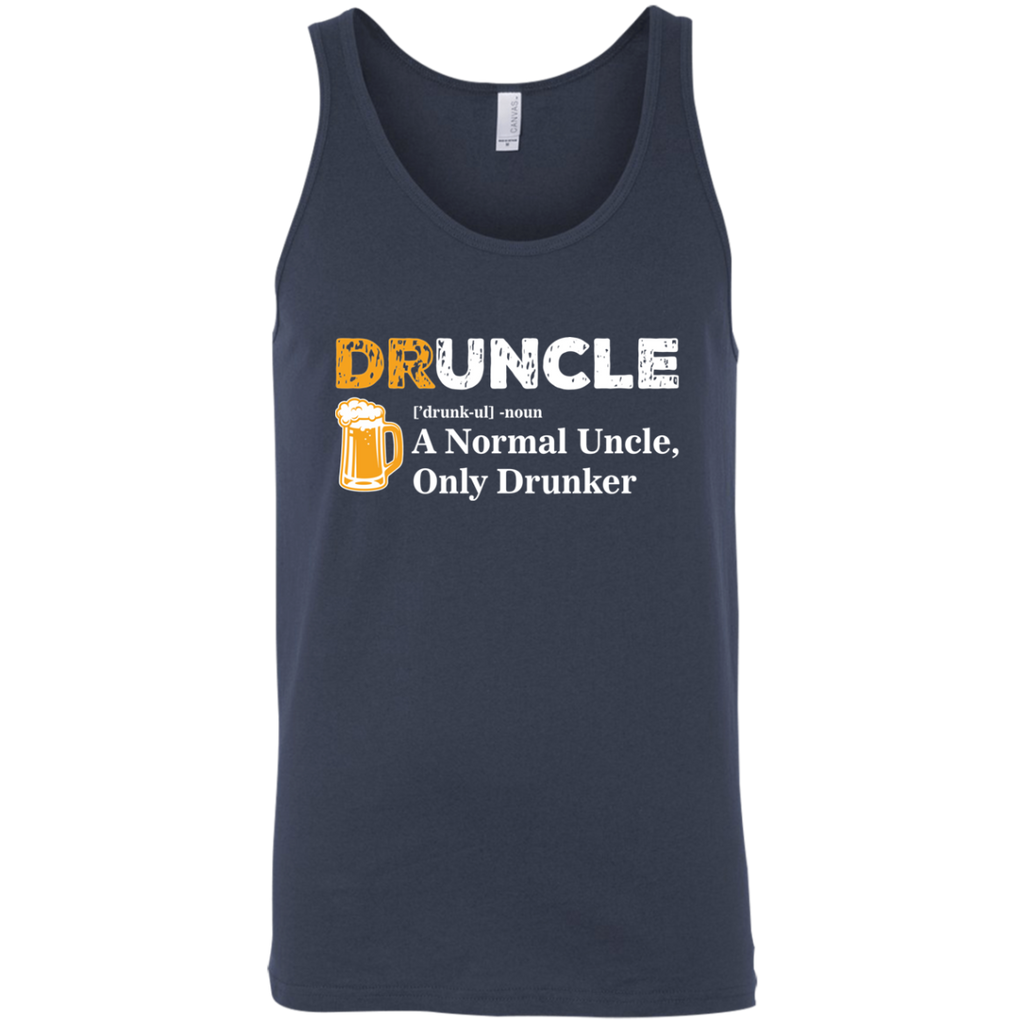 Druncle Tank Top T-Shirts - The Beer Lodge