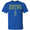 Whiskey Helps T-Shirt Apparel - The Beer Lodge
