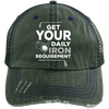 Get Your Daily Iron Requirement Trucker Cap Hats - The Beer Lodge