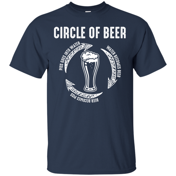 Circle Of Beer T-Shirt T-Shirts - The Beer Lodge