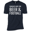 Sundays Are For Beer & Football T-Shirt Apparel - The Beer Lodge