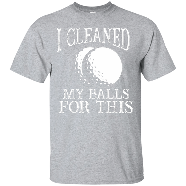 I Cleaned My Balls For This T-Shirt Apparel - The Beer Lodge
