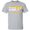 One Glass A Day T-Shirt Apparel - The Beer Lodge