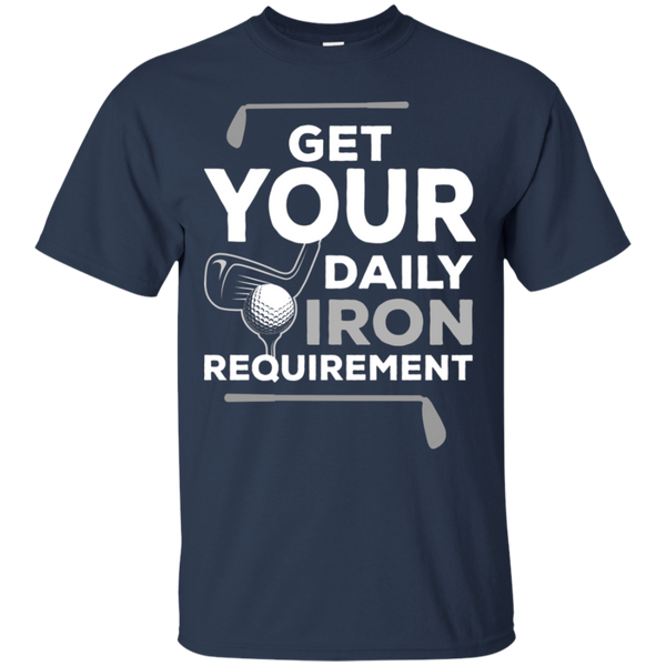 Get Your Daily Iron Requirement T-Shirt Apparel - The Beer Lodge