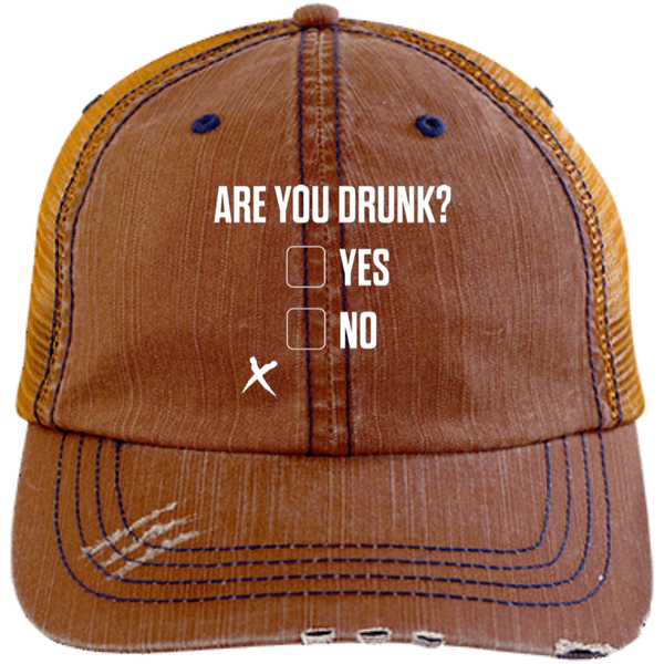 Are You Drunk Trucker Cap - The Beer Life
