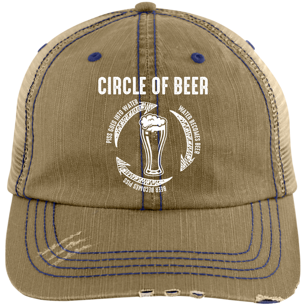 Circle Of Beer Trucker Cap Hats - The Beer Lodge