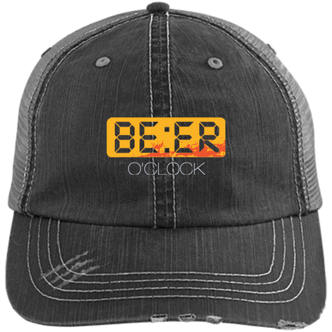 Beer O' Clock Trucker Cap Hats - The Beer Lodge