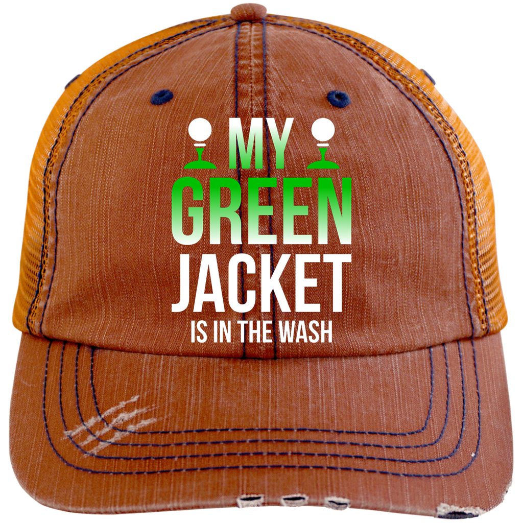 My Green Jacket Is In The Wash Trucker Cap Hats - The Beer Lodge