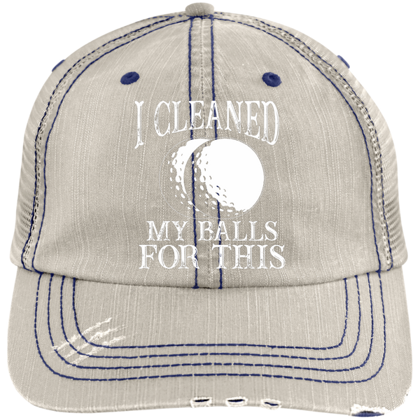 I Cleaned My Balls For This Trucker Cap Hats - The Beer Lodge
