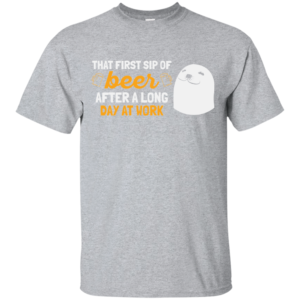That First Sip OF Beer T-Shirt Apparel - The Beer Lodge