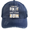 If Rum Can't Fix It You're Not Using Enough Rum Trucker Cap Hats - The Beer Lodge