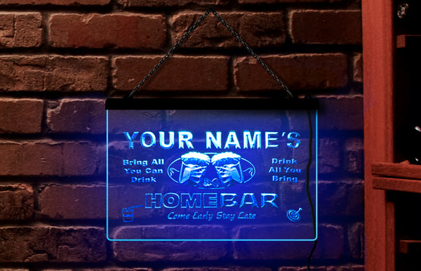 Custom Personalized Beer Mug Neon Light Sign (Two Sizes) - The Beer Life