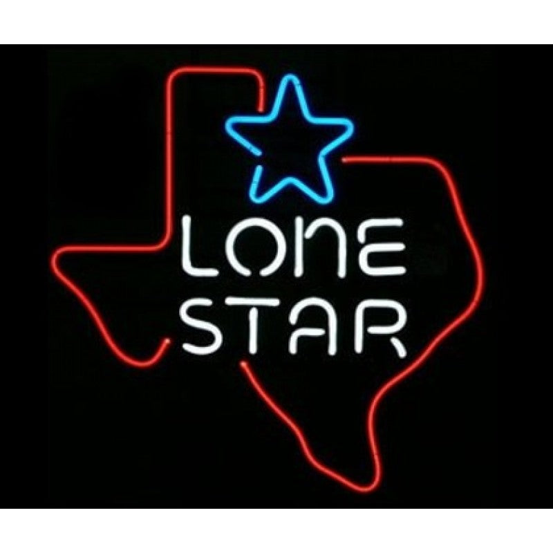 Lone Star Neon Home Bar Sign Neon Sign - The Beer Lodge