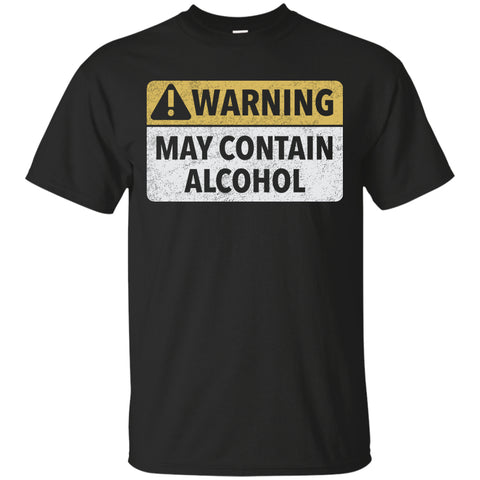 May Contain Alcohol T-Shirt - The Beer Life