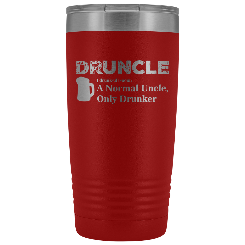 Druncle 20oz Tumbler Tumblers - The Beer Lodge