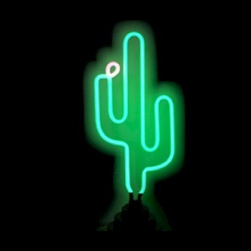 Cactus Neon Sculpture Neon Sculpture - The Beer Lodge