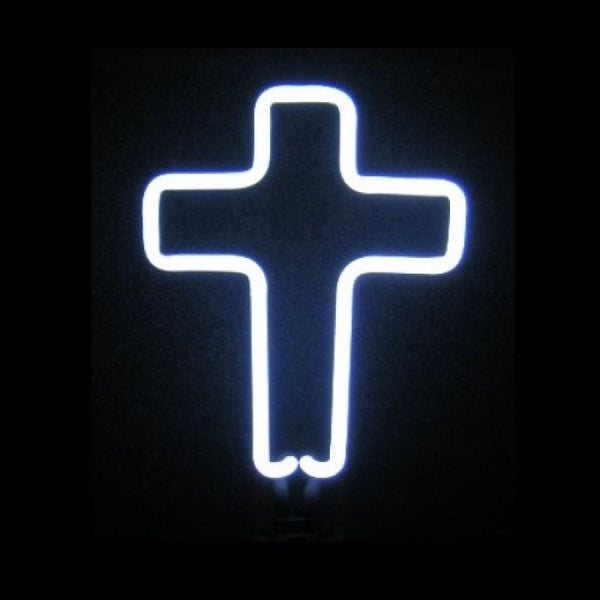 Cross Neon Sculpture Neon Sculpture - The Beer Lodge