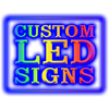 Custom Color Changing LED Signs (Multiple Shapes & Sizes) LED Signs - The Beer Lodge