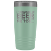 I Wonder If Beer Thinks About Me Too 20oz Tumbler Tumblers - The Beer Lodge