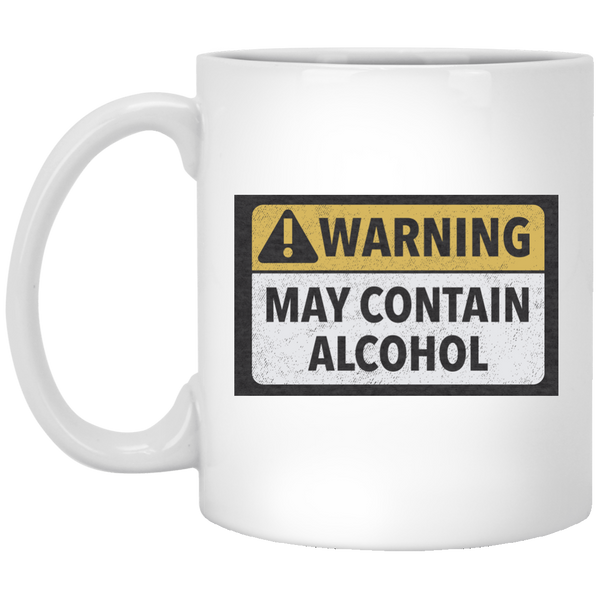 May Contain Alcohol 11 oz. Mug Glasses - The Beer Lodge