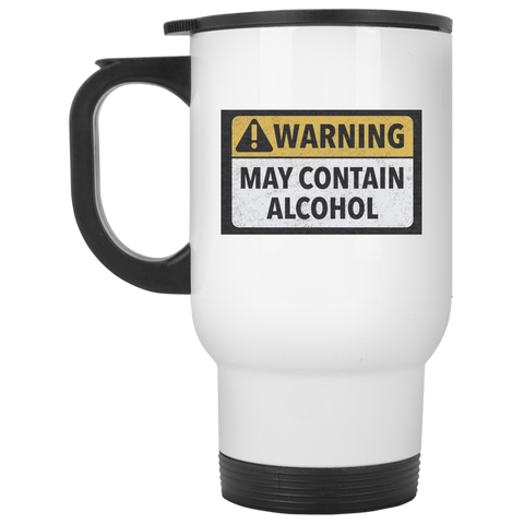 May Contain Alcohol Travel Mug Glasses - The Beer Lodge