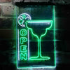 Cocktails Open Two Color LED Sign (Three Sizes)