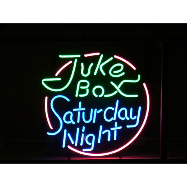 Juke Box Saturday Night Neon Home Bar Sign Neon Sign - The Beer Lodge