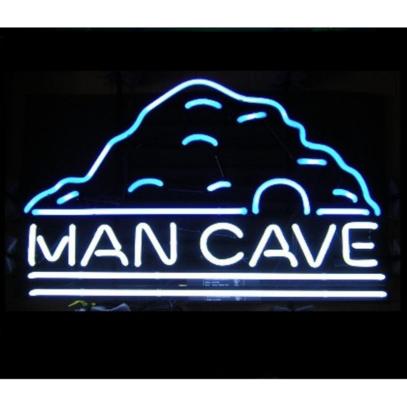 Man Cave Neon Home Bar Sign Neon Sign - The Beer Lodge