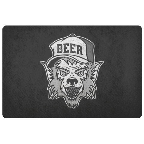 Werewolf Beer Hat Doormat Doormat - The Beer Lodge