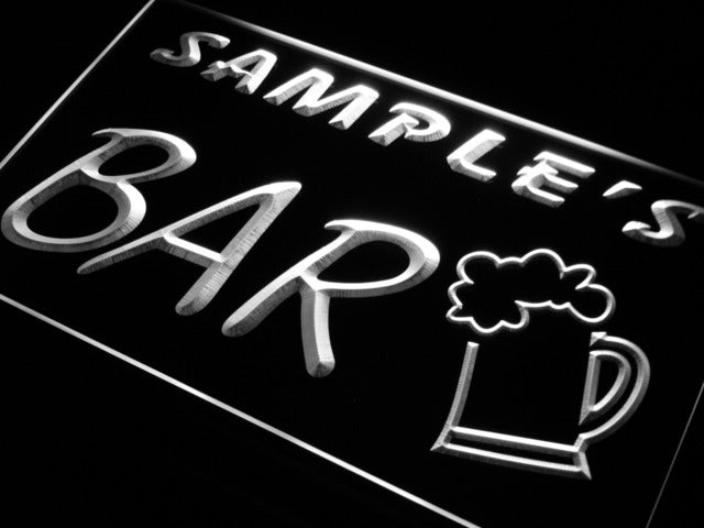 Personalized Bar Beer Mug LED Sign (Three Sizes) LED Signs - The Beer Lodge