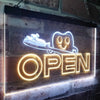 Dentist Doctor Open Two Color LED Sign (Three Sizes)