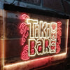 Tiki Bar Totem Pole Two Colors LED  Home Bar Sign (Three Sizes) LED Signs - The Beer Lodge