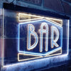 Bar Shape Design Two Colors LED  Home Bar Sign (Three Sizes) LED Signs - The Beer Lodge