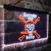 Surrender The Booty Skull Pirate Cranial Two Colors LED Home Bar Sign (Three Sizes) LED Signs - The Beer Lodge