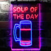 Soup of the Day Beer Bar Two Colors LED Sign (Three Sizes)