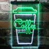 Coffee To Go Shop Display Two Color LED Sign (Three Sizes)