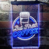 But First Coffee Shop Bedroom Room Two Color LED Sign (Three Sizes)