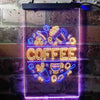 Coffee Café Decoration Two Color LED Sign (Three Sizes)