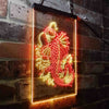 Koi Fish Display Two Color LED Sign (Three Sizes)