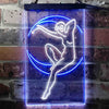 Blue Moon Lady Two Color LED Sign (Three Sizes)